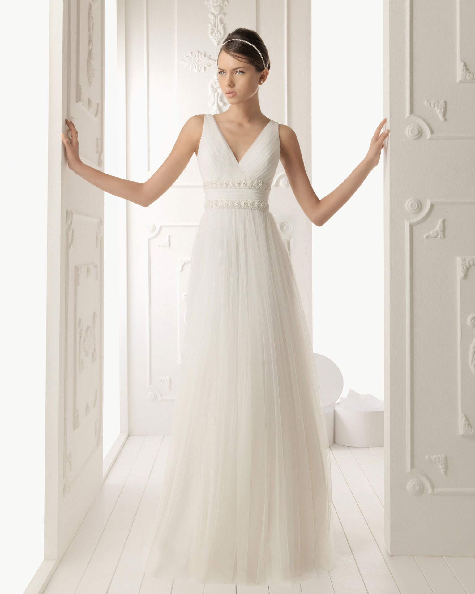 Vestido de novia griega