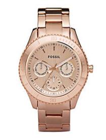 elblogdeanasuero_Regalos Navidad Relojes_Fossil Oro rosa
