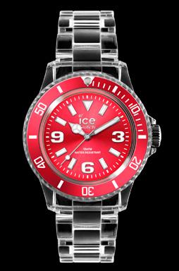 elblogdeanasuero_Regalos Navidad Relojes_Ice Watch transparente y rojo