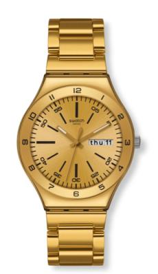 elblogdeanasuero_Regalos Navidad Relojes_Swatch dorado