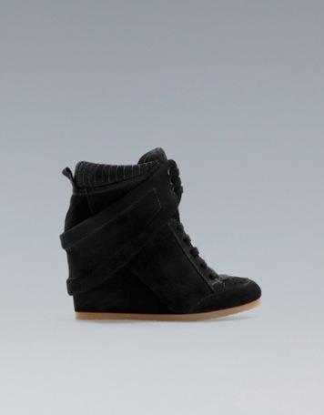 elblogdeanasuero_Regalos Navidad Sneakers_Zara negras
