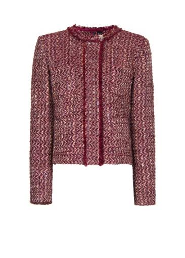elblogdeanasuero_Burgundy_Mango chaqueta tweed