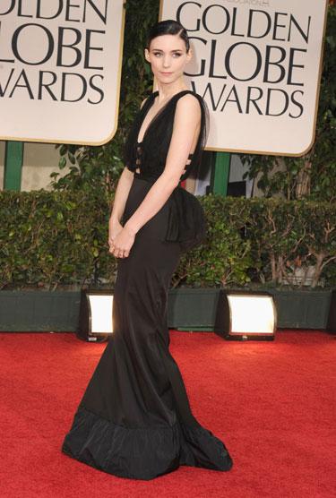 elblogdeanasuero_Rooney Mara_Nina Ricci Golden Globes 2012