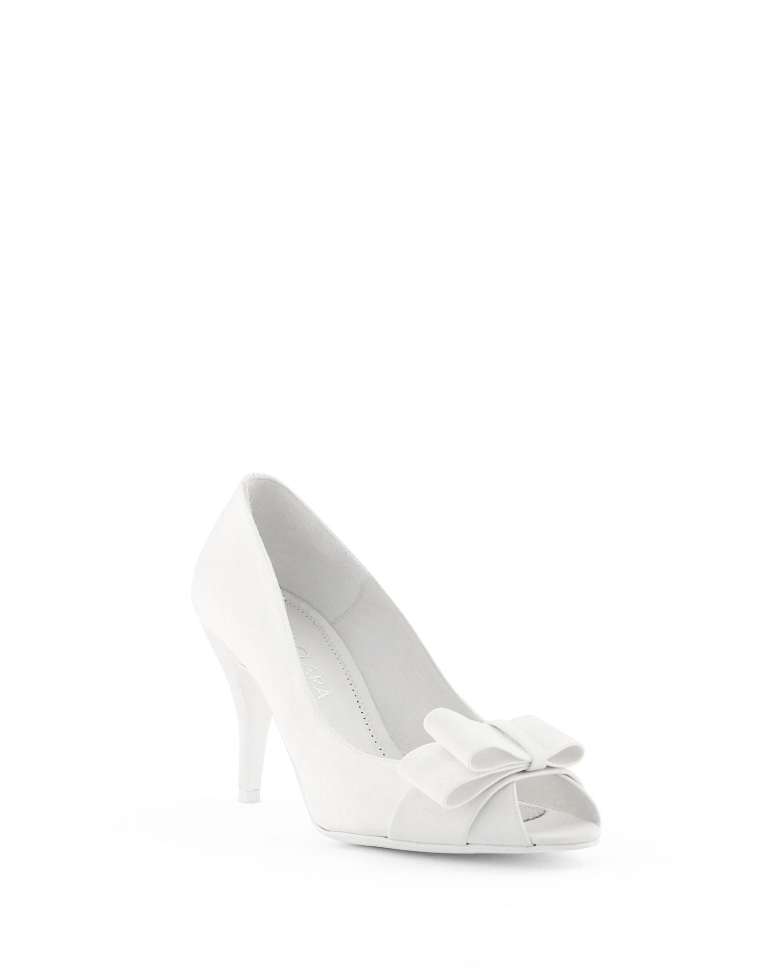 Zapatos Para Novia Tacon Medio