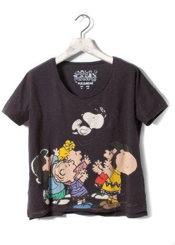 elblogdeanasuero_Cómic_Pull & Bear camiseta Snoopy