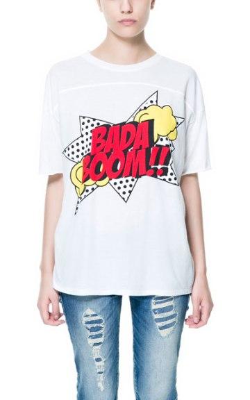 elblogdeanasuero_Cómic_Zara camiseta Bada Boom