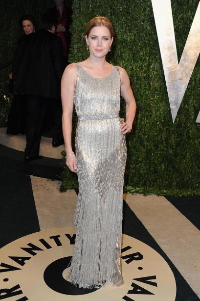 elblogdeanasuero_Fiestas Oscars 2013_Amy Adams Oscar de la Renta metalizado
