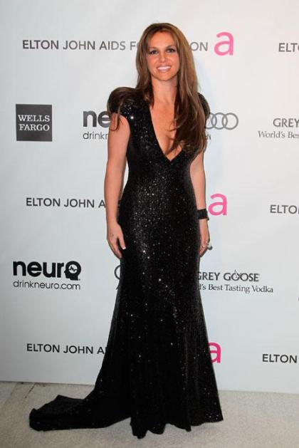 elblogdeanasuero_Fiestas Oscars 2013_Britney Spears Michael Cinco