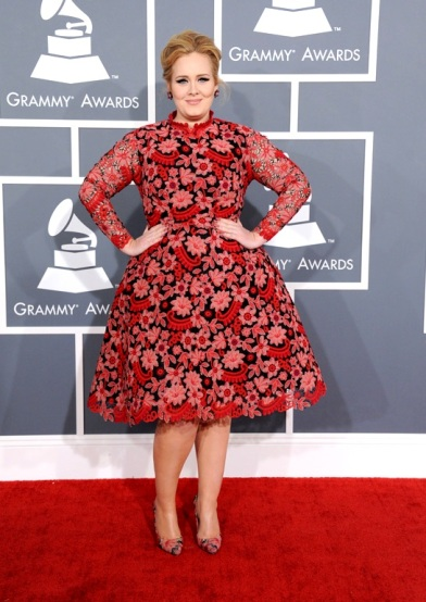 elblogdeanasuero_Grammy 2013_Adele Valentino