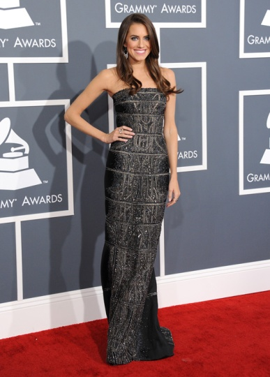 elblogdeanasuero_Grammy 2013_Allison Williams Kaufman Franco