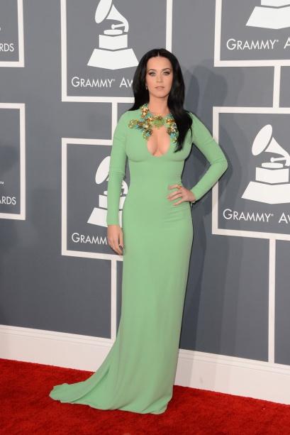elblogdeanasuero_Grammy 2013_Katy Perry Gucci verde