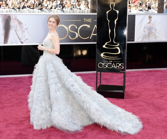 elblogdeanasuero_Oscars 2013_Amy Adams Óscar de la Renta