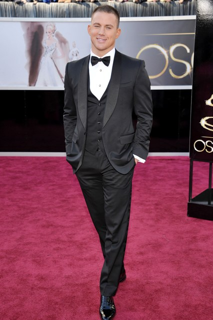 elblogdeanasuero_Oscars 2013_Channing Tatum Gucci chaleco