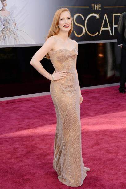 elblogdeanasuero_Oscars 2013_Jessica Chastain Armani canela