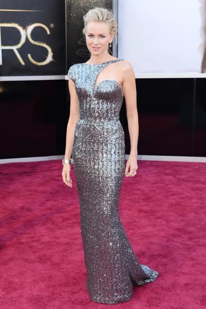 elblogdeanasuero_Oscars 2013_Naomi Watts Armani metalizado