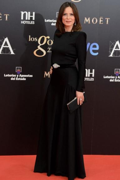 elblogdeanasuero_Premios Goya 2013_Aitana Sánchez-Gijón Lorenzo Caprile