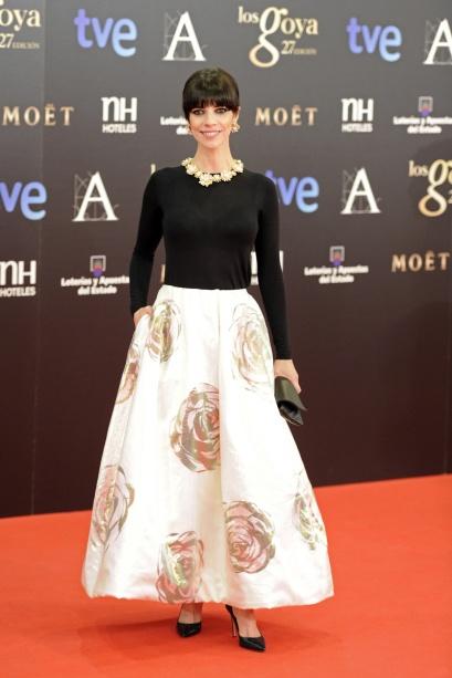 elblogdeanasuero_Premios Goya 2013_Maribel Verdú Dior Raf Simons