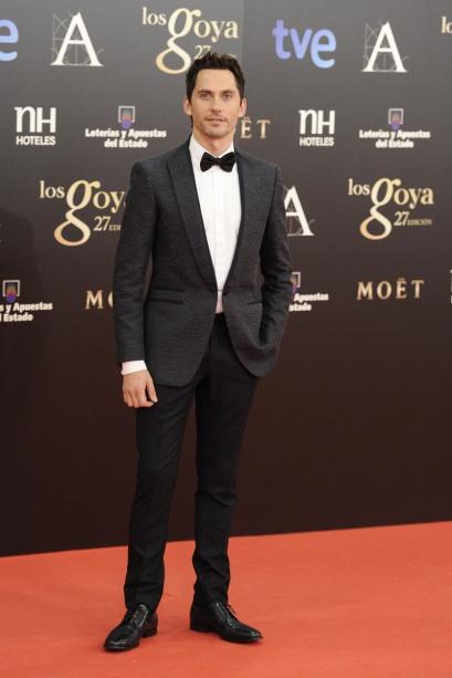 elblogdeanasuero_Premios Goya 2013_Paco León chaqueta Ferragamo y pantalón y zapatos de Dior