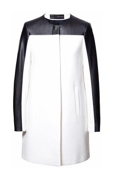 elblogdeanasuero_rayas blanco y negro_abrigo combinado Zara 59,95