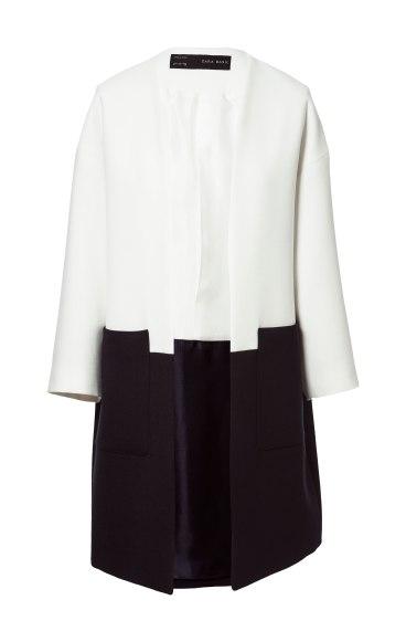 elblogdeanasuero_rayas blanco y negro_abrigo Zara 59,95