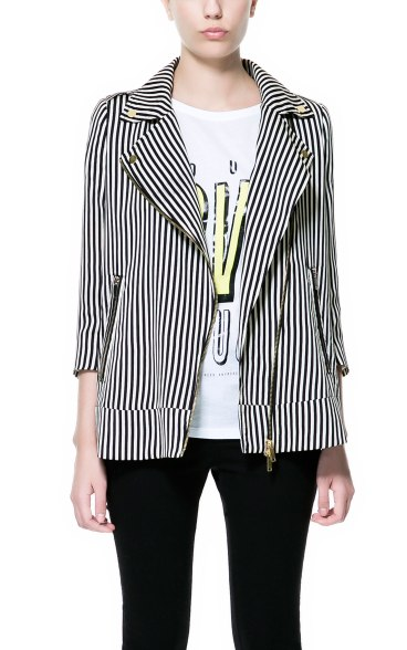 elblogdeanasuero_rayas blanco y negro_americana Zara TFR 49,95