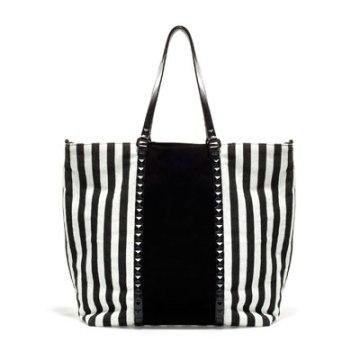 elblogdeanasuero_rayas blanco y negro_bolso shopper Zara 49,95