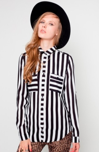 elblogdeanasuero_rayas blanco y negro_camisa Fashion PIlls 29,90