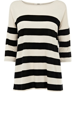 elblogdeanasuero_rayas blanco y negro_camiseta ancha Oasis 15