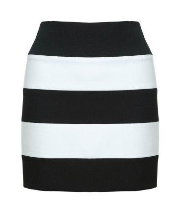 elblogdeanasuero_rayas blanco y negro_falda Zara 29,95