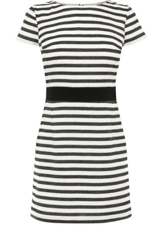 elblogdeanasuero_rayas blanco y negro_vestido rayas finas Oasis 75