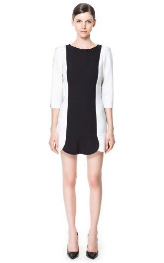 elblogdeanasuero_rayas blanco y negro_vestido Zara 49,95