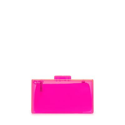 elblogdeanasuero_Complementos Boda 2013_Zara clutch metacrilato rosa