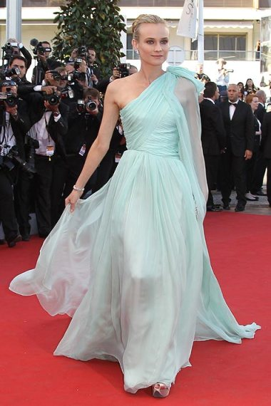 elblogdeanasuero_El estilo de Diane Kruger_Cannes 2012 Giambattista Valli Mint