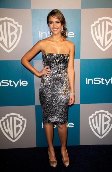elblogdeanasuero_Estilo de Jessica Alba_Gucci vestido paillettes In Style Party 2012