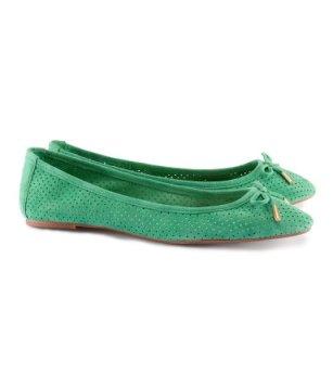 elblogdeanasuero_Verde esmeralda_Bailarinas caladas H&M