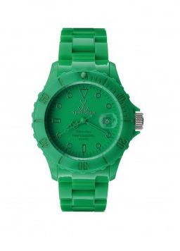 elblogdeanasuero_Verde esmeralda_reloj monochrome Toy Watch