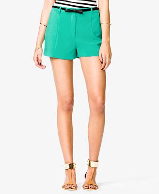 elblogdeanasuero_Verde esmeralda_shorts Forever 21