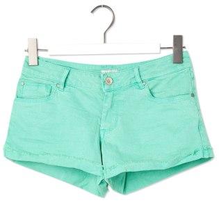 elblogdeanasuero_Verde esmeralda_shorts Pull & Bear