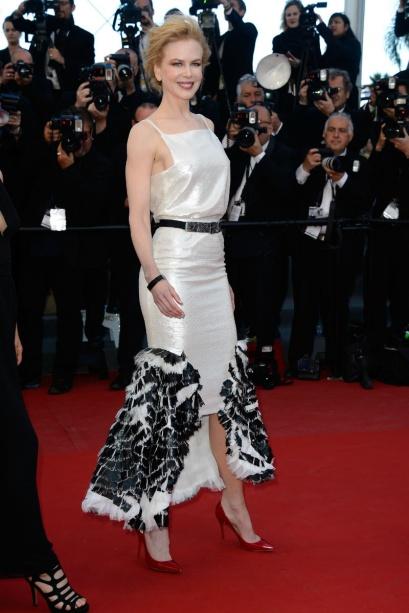 elblogdeanasuero_Cannes 2013_Chanel Nicole Kidman corto blanco y negro