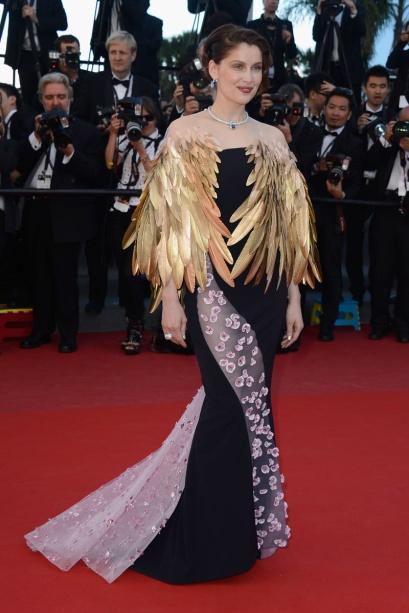 elblogdeanasuero_Cannes 2013_Dior Laetitia Casta plumas