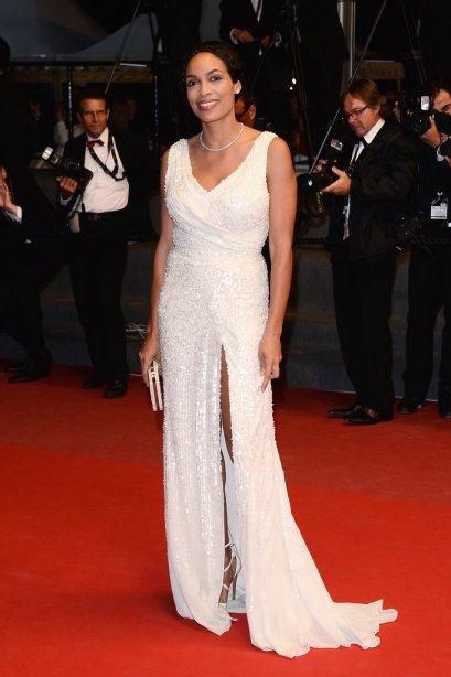 elblogdeanasuero_Cannes 2013_Elie Saab Rosario Dawson blanco