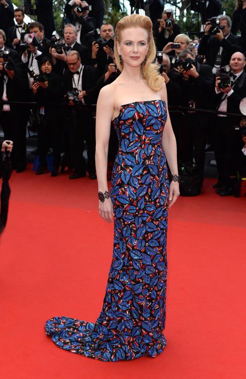 elblogdeanasuero_Cannes 2013_L´Wren Scott Nicole Kidman hojas de colores