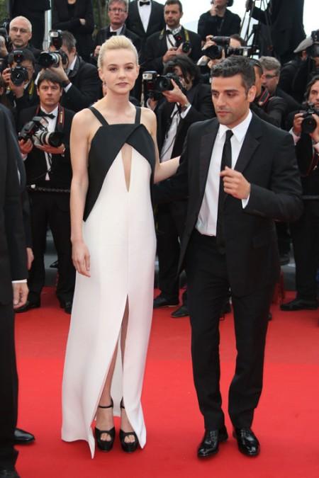 elblogdeanasuero_Cannes 2013_Vionnet Carey Mulligan blanco y negro