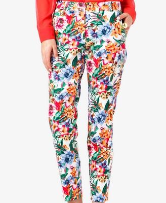 elblogdeanasuero_Estampado Tropical_pantalones Forever 21 21,75 €