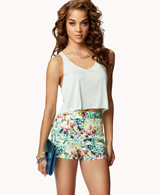 elblogdeanasuero_Estampado Tropical_shorts Forever 21 17,75 €