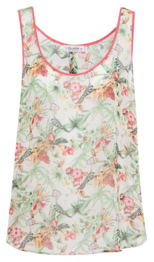 elblogdeanasuero_Estampado Tropical_top tirantes Pull & Bear 17,99 €