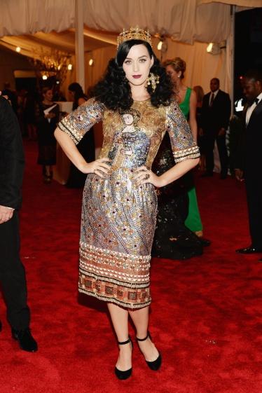 elblogdeanasuero_Gala MET 2013_Katy Perry vestido Bizancio Dolce & Gabbana