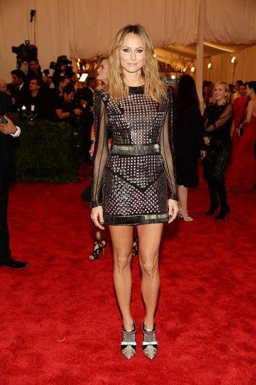 elblogdeanasuero_Gala MET 2013_Stacy Keibler vestido de tachas de Rachel Roy