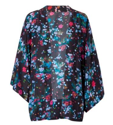 elblogdeanasuero_Tendencia Oriental_Stradivarius Kimono flores negro