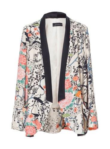 elblogdeanasuero_Tendencia Oriental_Zara blazer estampado oriental